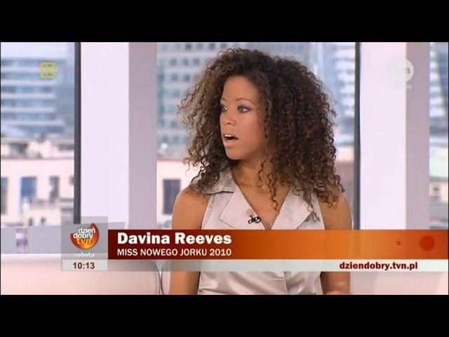 Davina Reeves - Miss Nowego Jorku naszą nową celebrytką