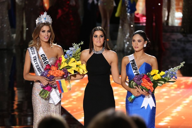 Teleprompter na Miss Universe pokazywał WŁAŚCIWĄ Miss