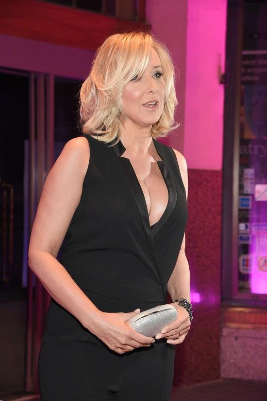 Biust Agaty Młynarskiej zdominował całą imprezę (FOTO)