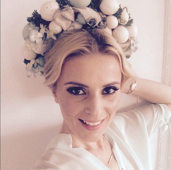 Halina Mlynkova pokazała się bez makijażu (Instagram)