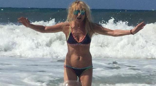 Monika Olejnik zachwyca swoją figurą na plaży!