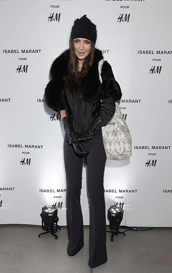 Monika Pietrasińska w czapce w woalką (FOTO)