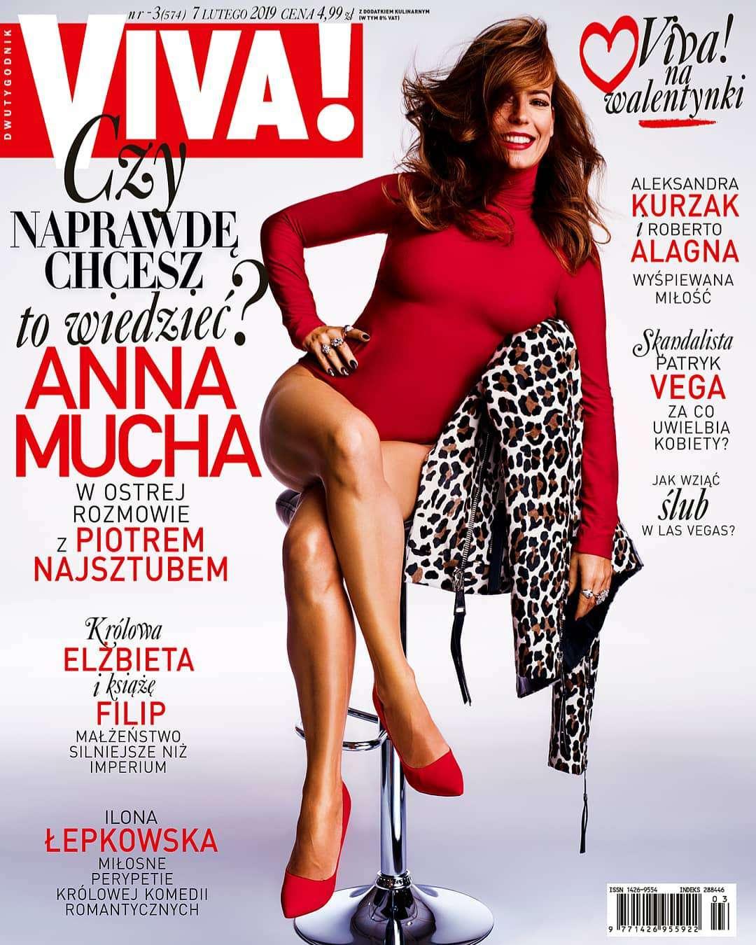 Anna Mucha w Vivie: Dla mnie LA jest brzydkie, nieatrakcyjne, nieinteresujące.