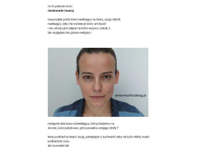 Mucha pokazała swoje zdjęcie bez grama makijażu (FOTO)