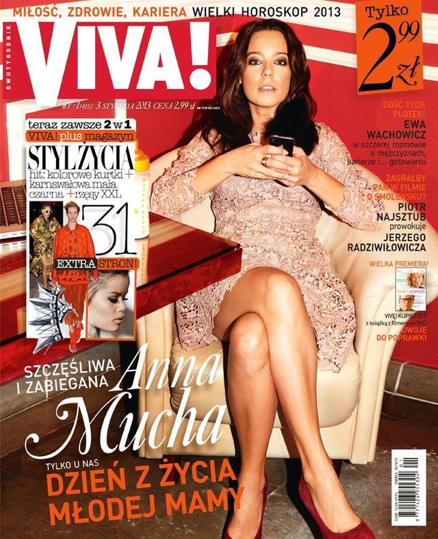 Anna Mucha - m�oda (?) mama opowiada o swoim dniu (FOTO)
