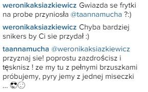 Ksi��kiewicz i Mucha pok��ci�y si� na Instagramie? (FOTO)