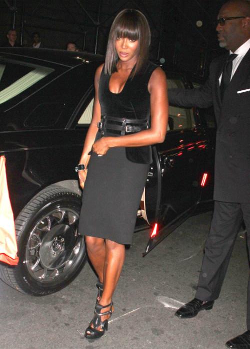 Naomi Campbell została napadnięta na ulicy w Paryżu