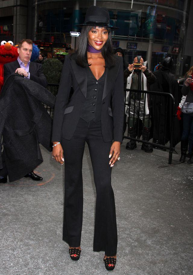 Naomi Campbell niby nie skrytykowała sesji Kim dla Vogue'a