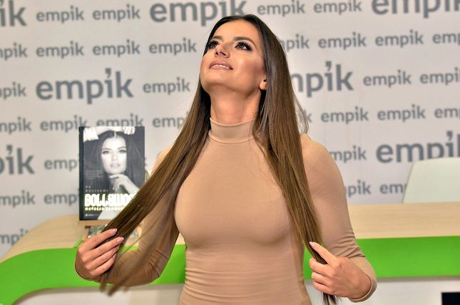 Natalia Janoszek w obcisłej sukience promuje swoją książkę (FOTO)