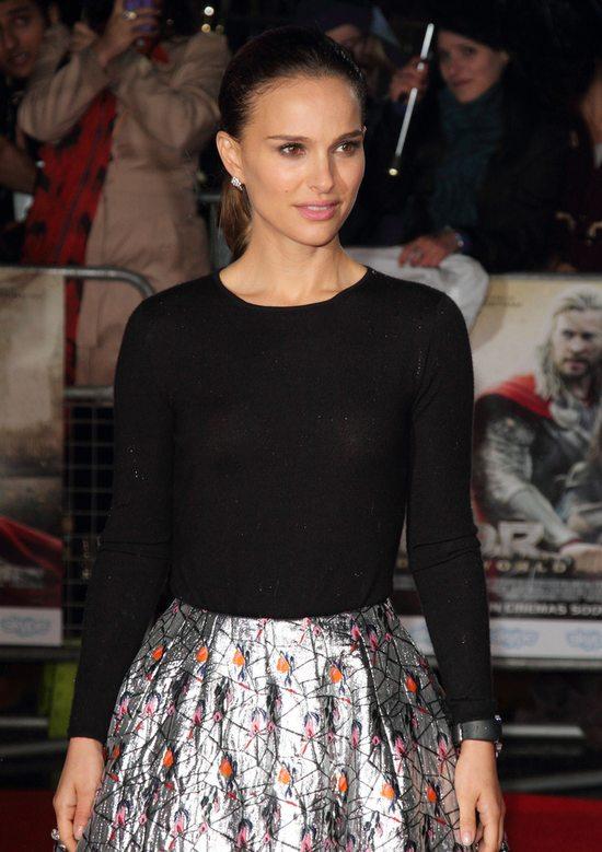 Piękna Natalie Portman na premierze nowej części Thora