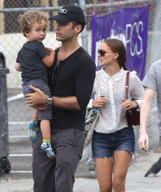Synek Natalie Portman to mały słodziak (FOTO)