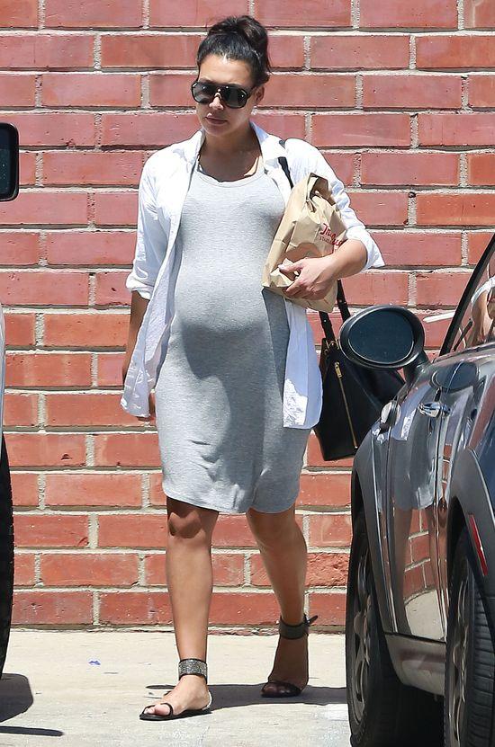 Naya Rivera w ciąży nie inspiruje się już Kim Kardashian?