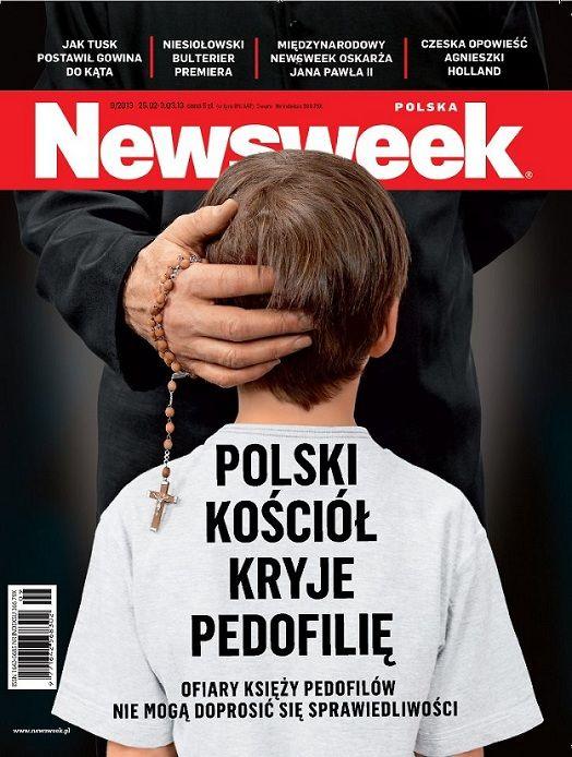 Ks. Sowa o nowej okładce Newsweeka: Jest chamska