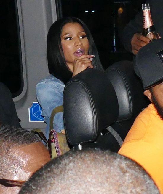 Narzeczony zabrał Nicki Minaj na popijawę (FOTO)