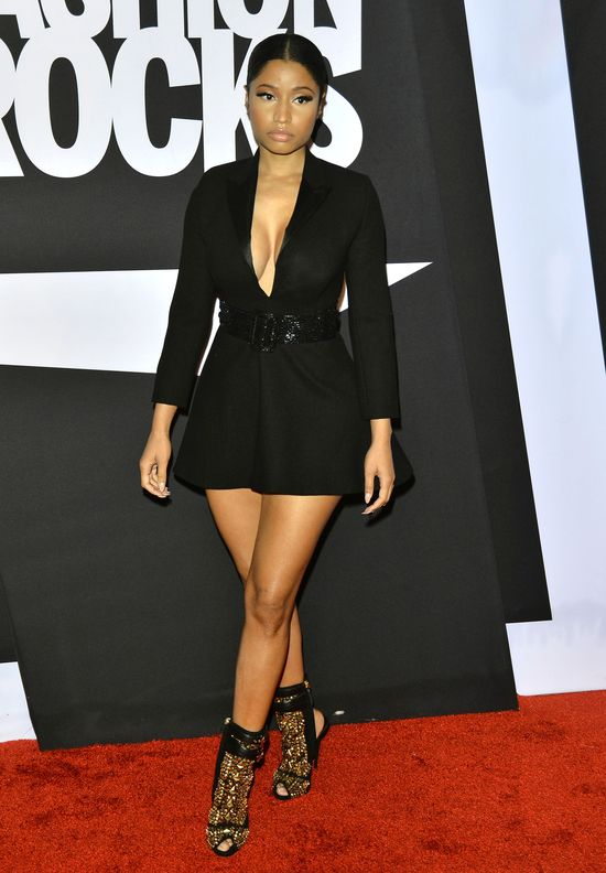 Damy w czerni - Rita Ora kontra Nicki Minaj (FOTO)
