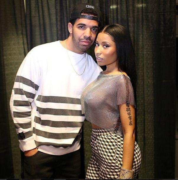 Nicki Minaj i Drake - jednak jest coś na rzeczy? (FOTO)