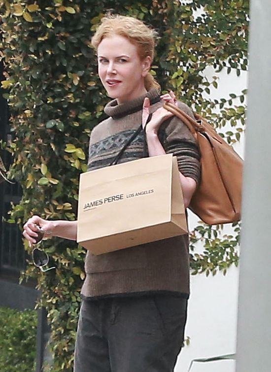 Nicole Kidman ścięła i przefarbowała włosy! (FOTO)
