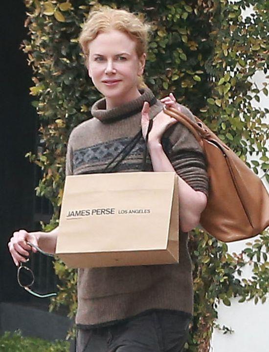 Nicole Kidman - botoks pozowała jej na uśmiech? (FOTO)