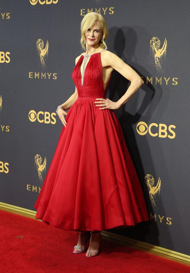 Zachowanie Nicole Kidman podczas Emmys woła o pomstę do nieba