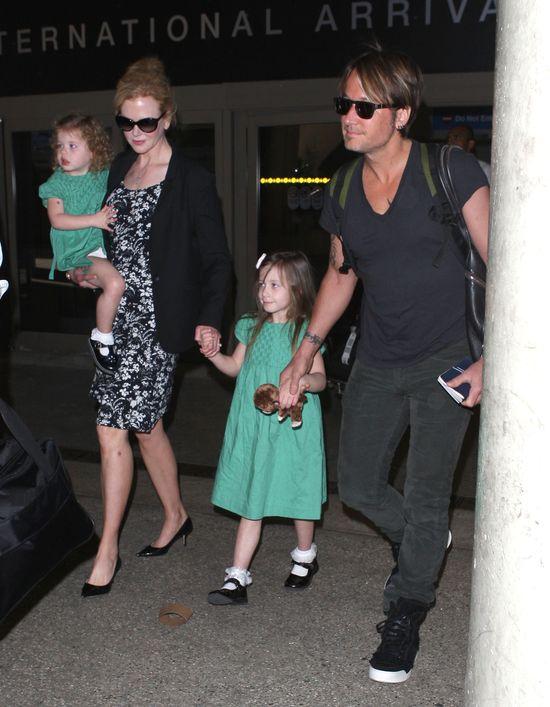 Nicole Kidman przyłapana z rodzinką (FOTO)