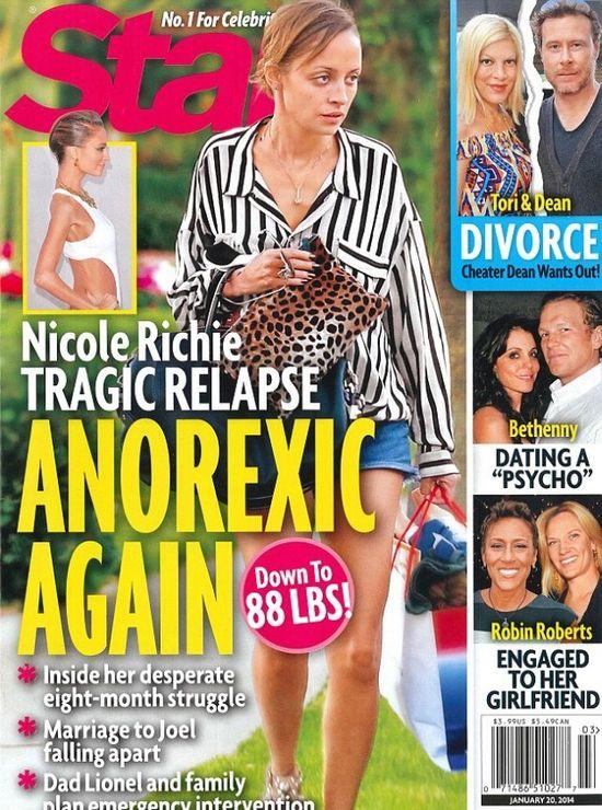 Nicole Richie wci�� jak kartka papieru (FOTO)