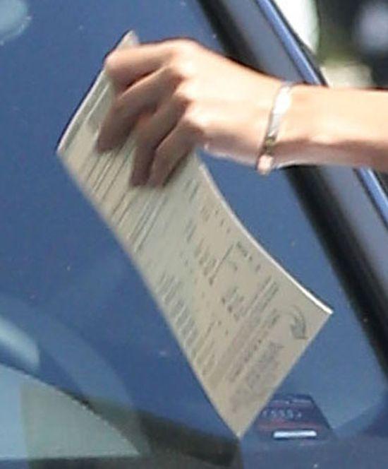 Nicole Richie dostała mandat na dzień dobry (FOTO)