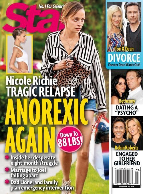 Nicole Richie waży niecałe 40 kg! (FOTO)