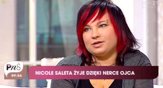 Nicole, c�rka Salety, trafi�a do szpitala