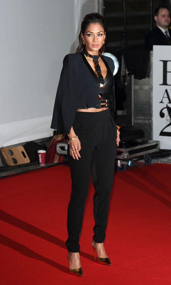 Nicole Scherzinger - najgorętsza gwiazda na gali BRIT? FOTO