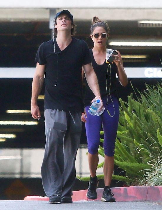 Nikki Redd i Ian Somerhalder zorbili nietypowe zakupy