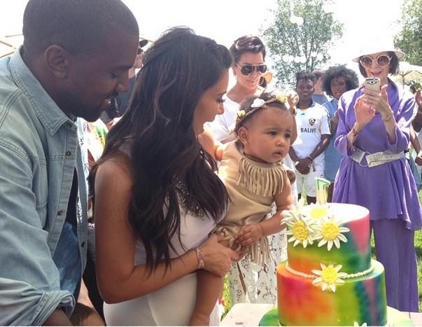 Jak wyglądała Nori West na swoich pierwszych urodzinach?