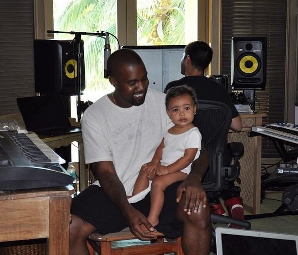 Kanye West nie widuje Nori tygodniami, ale...