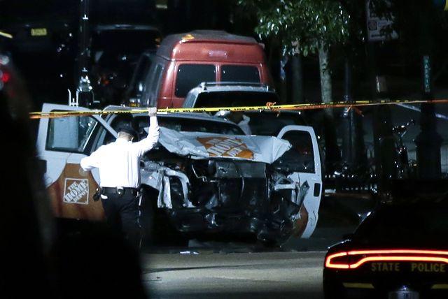 Koszmarny Halloween w Nowym Jorku - atak na Manhattanie, nie żyje 8 osób (ZDJĘCI
