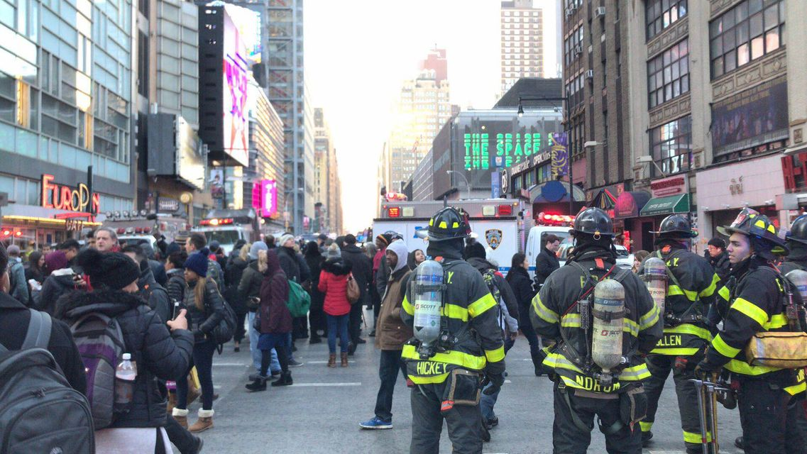 Bomba na Manhattanie - okazuje się, że wybuchła przed czasem