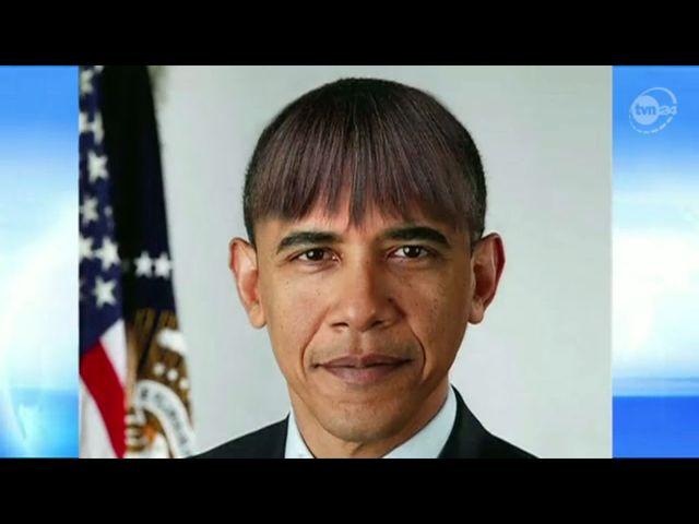 Obama z grzywką (FOTO)
