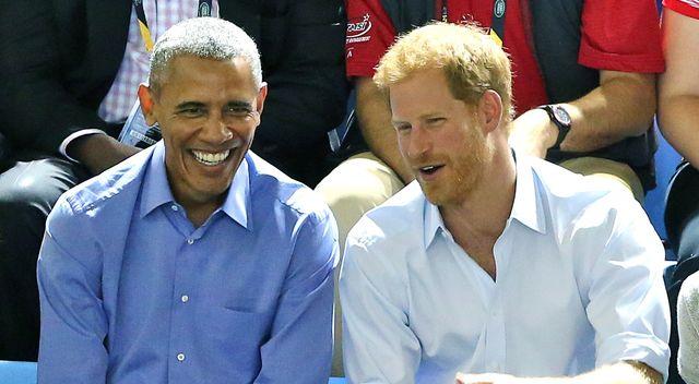 Książę Harry i Barack Obama rozmawiali o Meghan? (ZDJĘCIA)