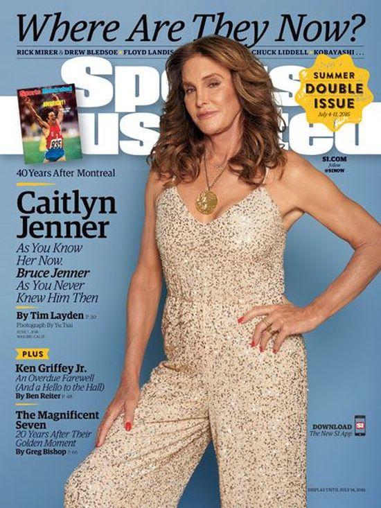 Caitlyn Jenner pojawiła na okładce Sports Illustrated! Dokładnie po 40 latach...