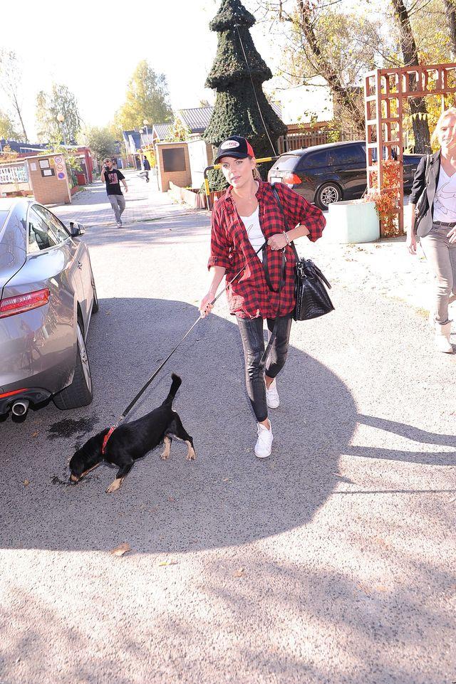 Aleksandra Kwaśniewska wspiera bezdomne psy (FOTO)