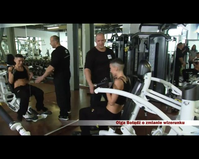 Olga Bołądź ostro pakuje na siłowni (FOTO)