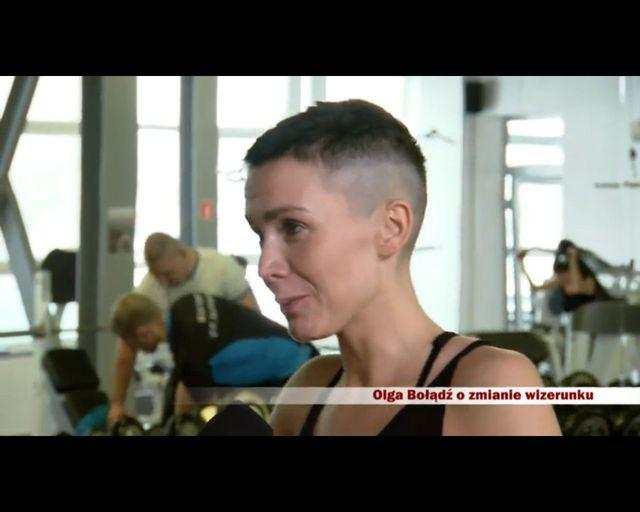 Olga Bo��d� ostro pakuje na si�owni (FOTO)