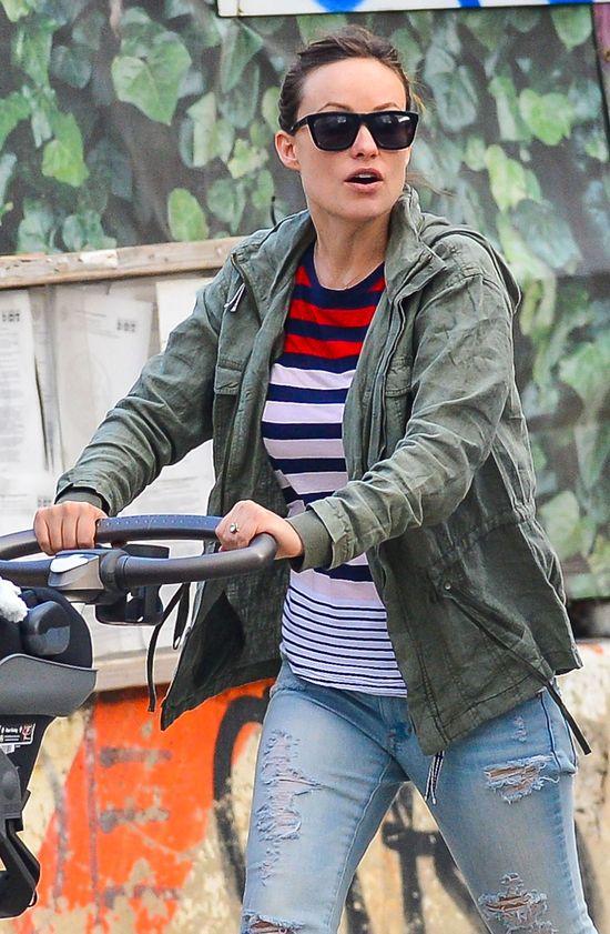 Olivia Wilde - jak wygl�da miesi�c po porodzie? (FOTO)