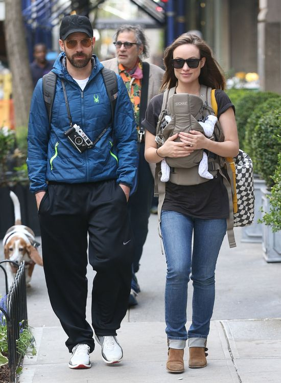 Olivia Wilde tydzień po porodzie! (FOTO)