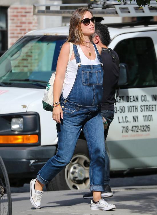 Olivia Wilde z pokaźnym ciążowym brzuszkiem - zdradziła płeć dziecka (FOTO)