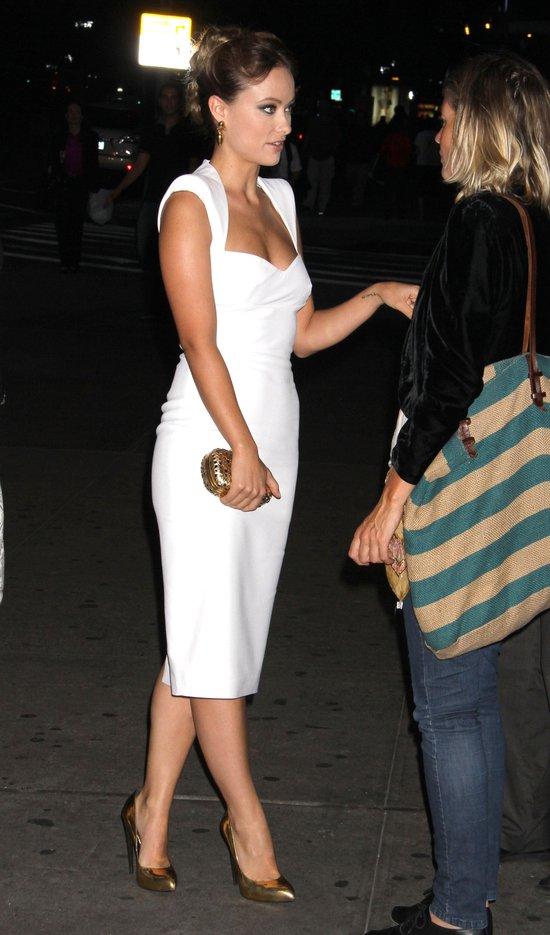 Olivia Wilde w białej kreacji - istne cudo! (FOTO)