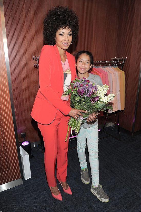 Omena Mensah zabrała córeczkę na promocję książki (FOTO)