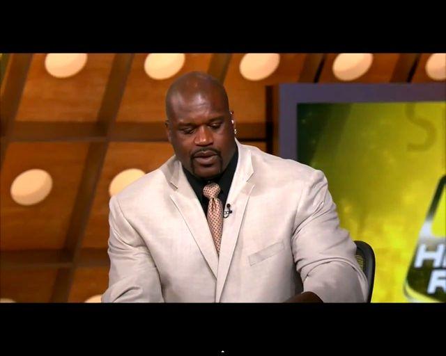 Shaquille O'Neal pomylił pierogi z kiełbasą [VIDEO]