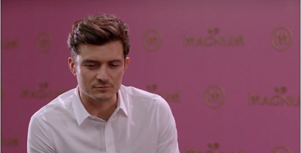 Orlando Bloom reklamuje lody (VIDEO)