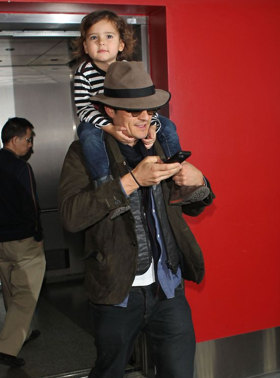Orlando Bloom - tatuś idealny (FOTO)