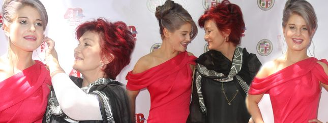 Sharon Osbourne jest dumna ze swojej córki (FOTO)