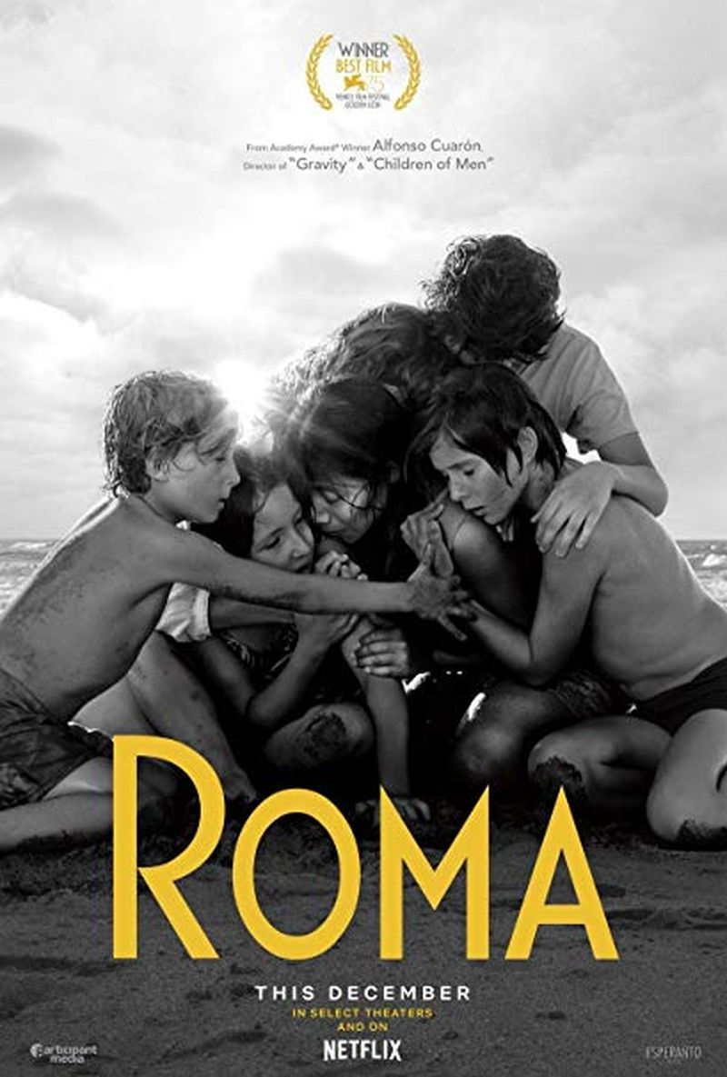 Roma, plakat filmu